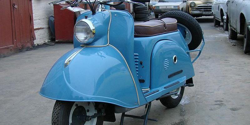 Мотороллер T200-Тула